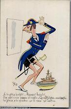 Illustratore POLLONI Opera Nazionale Balilla Umoristica WWII PC Circa 1942