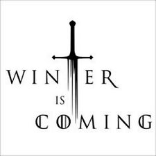 Vinyl Decal Truck Car Sticker Laptop - Game Of Thrones Winter Is Coming v2