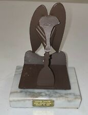 """Vintage Metal Pablo Picasso Replica Sculpture Woman 1967 Civic Center Plaza 6"""""""