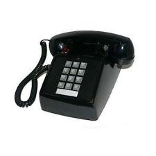 New Cortelco 250000-VBA-20MD Standard Desk Telephone Black Free USA Ship