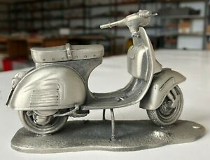 Solid Hand Made Pewter Vespa GS (Grand Sport) Model