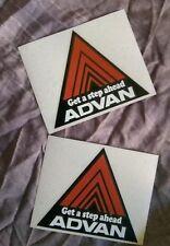 Honda ADVAN style X2 Front Guard Sticker