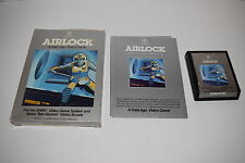 AIRLOCK Atari 2600 Video Game COMPLETE In BOX TESTED Data Age