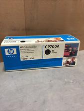 New NIB HP OEM Genuine C9700A Black  Toner for 1500 2500 in blue box
