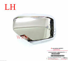 Fit Mitsubishi L200 Triton Mn 2006-2014 Lh Left Chrome Mirror Side Cover Genuine