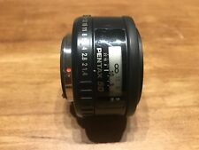 Pentax FA 50mm f/1.4 smc Camera Lens