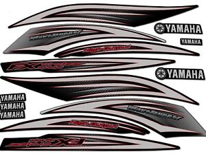 2006 Yamaha FX HO Cruiser - DECAL KIT- FX160 HIGH OUTPUT WAVERUNNER GRAPHICS