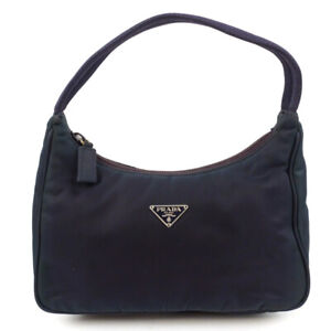 PRADA Bag Nylon Shoulder MV515 Pouch Handbag Mini Size Nylon MV515