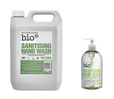Eco-Friendly Bio-D Hand Wash Cleaner Soap 5 Litre OR 500ml Pump Kills 99.9%