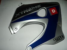 CARENATURA DX BLU / ARGENTO per DERBI SENDA SM 50ccm ORIGINALE 00h044348045