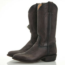 Frye Billy Pull-On Smoke Washed Oiled Vintage Grey Leather Boots - Size 6.5 B