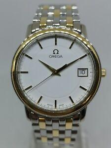 Omega DeVille Prestige Steel & Gold Quartz Wristwatch 4310.21.00