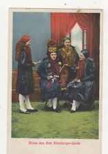 Gruss Aus Dem Altenburger Lande Vintage Postcard Germany 398a