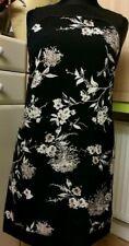 WALLIS 💗 beautiful dress size 14 new black & cream flower print New With Tags