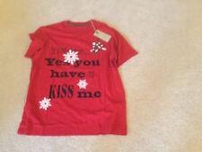 John Lewis Xmas Christmas T Shirt It's Mistletoe You Have to Kiss Me XL