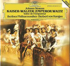 Johann Strauss / Herbert Von Karajan CD Kaiser-Walzer / Emperor Waltz - Europe