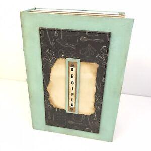Recipe book, Junk Journal, Scrapbook, Blank Card Inserts, Handmade OOAK ART