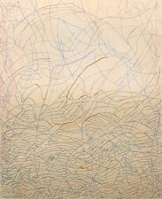 """Mark Tobey """"Morning Grass"""" Hand Signed Original Artwork Etching, Submit Offer!"""