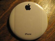 Apple Computer White iPhone Phone Advertisement Logo Pocket Lipstick Mirror