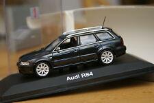 1:43 Audi RS4 B5 Avant 1999,2000,2001 black schwarz MINICHAMPS PMA rs s 4