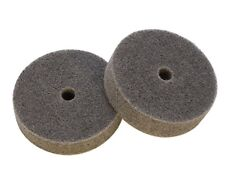 Medium Abrasive Buff Polishing Wheels Package Of 2