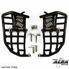 Raptor 700 Nerf Bars Pro Peg Heel Gaurds Alba Racing Blk Blk 197 T7 BB