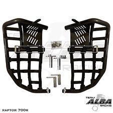 Raptor 700  Nerf Bars  Pro Peg  Heel Gaurds  Alba Racing  Blk Blk 197 T7 BB