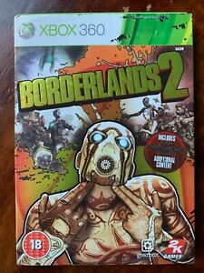 Borderlands 2 Xbox 360 Game Video Game w/ Slipcover