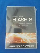Flash 8: Graphics, Animation & Interactivity by James Mohler New Sealed Cd