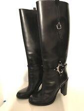GUCCI Damen Stiefel Gr. 41 schwarz NEU *ORIGINAL* Echtleder Boots Luxus 1500€ NP