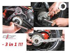 Attrezzo blocca Variatore e Frizione + Chiave > Piaggio NRG Power / Purejet /S50