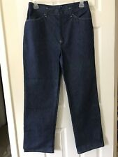 Sears Women's Mom Blue Denim Jeans Size 18 High Waist Full Hip Pants