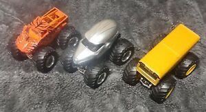 Hotwheels Monster Jam Trucks -Police Nea, Higher Education, Prowler Lot