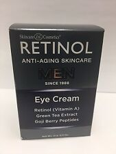 Skincare Cosmetics Retinol Anti-Aging MEN Eye Cream 0.5 oz New In Box