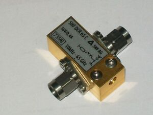 SHF A.G. (for ANRITSU WILTRON) DCR65G 1.85mm V connector 65 GHZ DC return