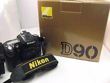 Nikon D90 12.3MP Digital SLR Camera - Black (Body Only)