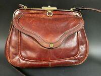 Vintage Etienne Aigner Handtasche Tasche 60er 70er Design 23x17cm 8BAI