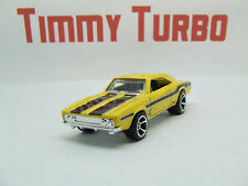 DODGE CHARGER 500 1969 YELLOW MUSCLE MANIA 6/10 HOT WHEELS MINT