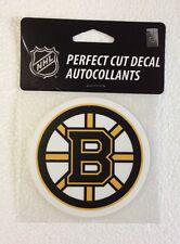 "Boston Bruins 4"" x 4"" Logo Truck Car Window Auto Die Cut Decal Color New NHL"