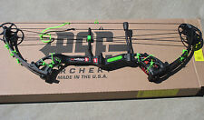 NEW PSE STINGER X BLACKOUT BLACK 70# GREEN KIT Barb Wire compound bow