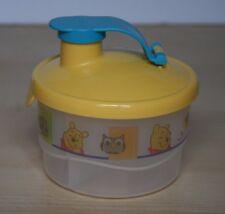 TUPPERWARE Winnie The Pooh Milk Powder Formula Snack Dispenser New