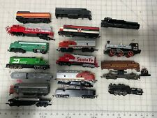 Assortment of HO scale Train Engines for parts only
