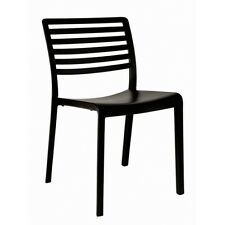Restaurant Resol Lama Black chair made in Europe