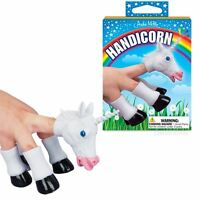 Handicorn Unicorn Head & Hooves Hand Puppets Gag Gift Party By Archie McPhee