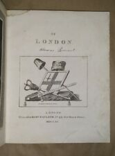[SOME ACCOUNT] OF LONDON Thomas Pennant 1790 1st Edition free S/H