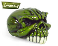 Green Skull Saw Head Custom Gearstick Resin Gear Knob GearKnob Stick Shifter VW