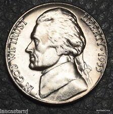 1955-D  BU Jefferson Nickel #ACS