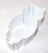 """NEW WHITE OWL SHAPED COOKIE BISCUIT PASTRY CUTTER 8.5cm 3"""" ANIMAL AH"""