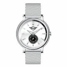 Men's Watch Mini Cooper BMW Steel Jersey Milano Swiss Made Silver