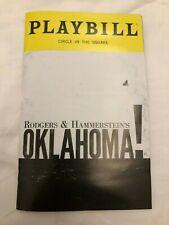 Oklahoma Broadway Playbill (May 2019) with insert
